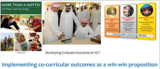 Cover page Learning outcomes presentation